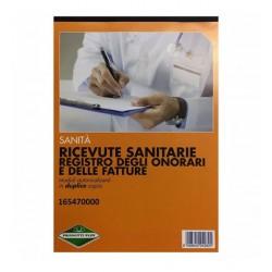 BLOCCO RICEVUTE SANITARIE...